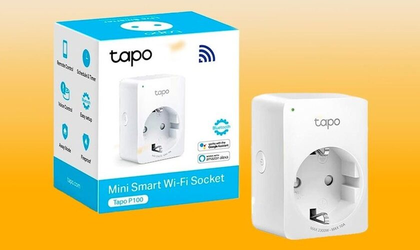 1618261806 Amazon has the TP Link Tapo P100 smart plug again for