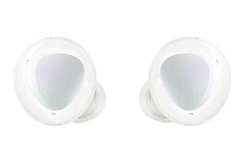 Samsung Galaxy Buds + - Wireless Headphones (with Microphone, Bluetooth, Ambient Sound, AKG Technology), 17.5 mm, White Color [Versión Española]