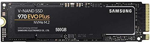 "Samsung MZ-V7S500BW 970 EVO Plus - SSD Drive, 500GB, M.2, NVMe, Size 2.5 "", SATA 6 GB / s interface, Color Black / Orange"