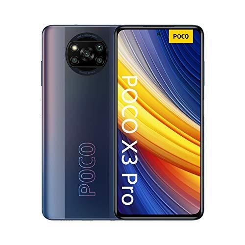 "POCO X3 Pro - Smartphone 6 + 128 GB, 6.67 ""120Hz FHD + DotDisplay, Snapdragon 860, Quad Camera 48 MP, 5160 mAh, Phantom Black"