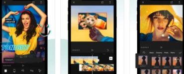 the app to edit video stories and TikToks that sweeps