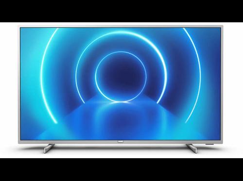 "LED TV 58"" Philips 58PUS7555 / 12, 4K, Smart TV, P5 Engine, 3 HDMI, 2 USB, Silver"