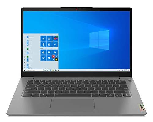 "Lenovo IdeaPad 3 - Laptop 14"" FullHD (Intel Core i3-1115G4, 8GB RAM, 256GB SSD, Intel UHD Graphics, Windows 10 Home), Gray Color - Spanish QWERTY keyboard"