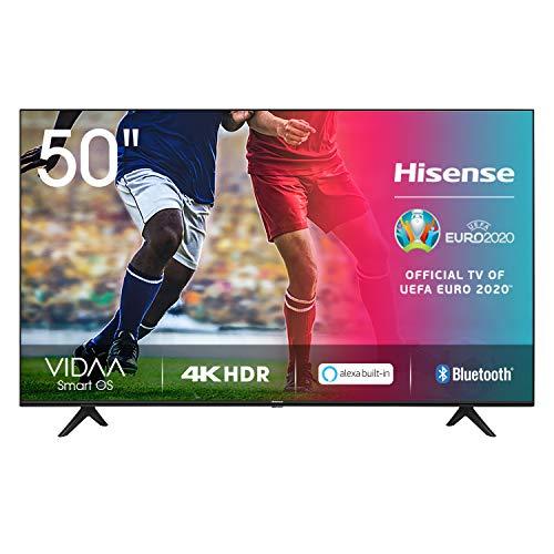 Hisense UHD TV 2020 50AE7000F - Smart TV 4K resolution with integrated Alexa, Precision Color, UHD upscaling with AI, Ultra Dimming, DTS Studio Sound audio, Vidaa U 4.0
