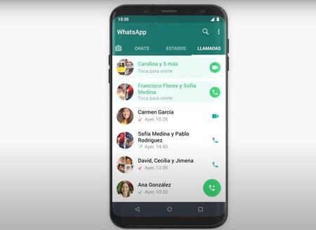 Group Calls Whatsapp