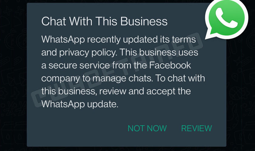 1630270404 WhatsApp privacy changes will finally be optional according to WaBetaInfo