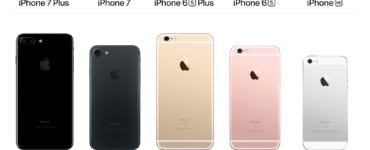 Are the iPhone 6s and 7 the same size?