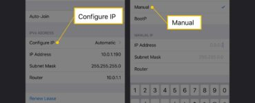 Can I change my IP address on my iPhone?