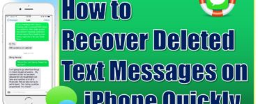 Can I retrieve deleted messages on my phone?