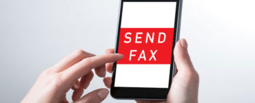 Can I send a fax from my cell phone?