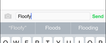 Can iPhone autocorrect words be changed?