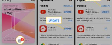 Can not update apps on iPhone?