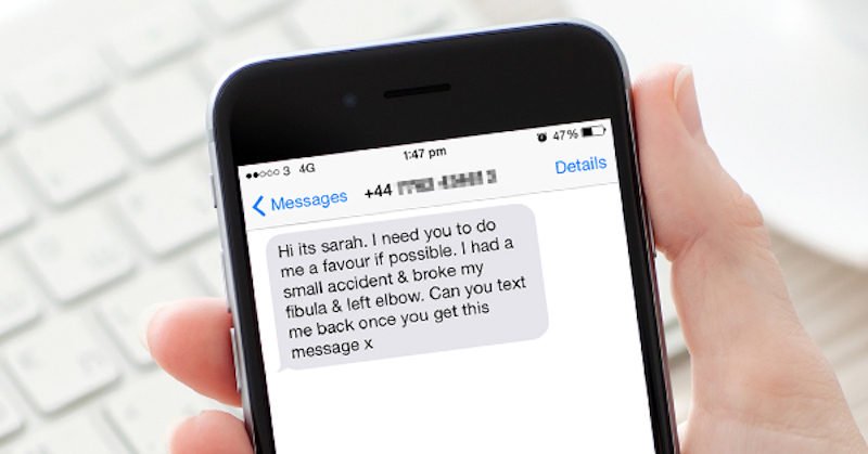 Can text messages be forwarded to another phone?