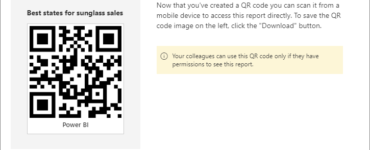 Can we generate QR code for location?