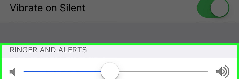 Can you adjust iPhone alarm volume?
