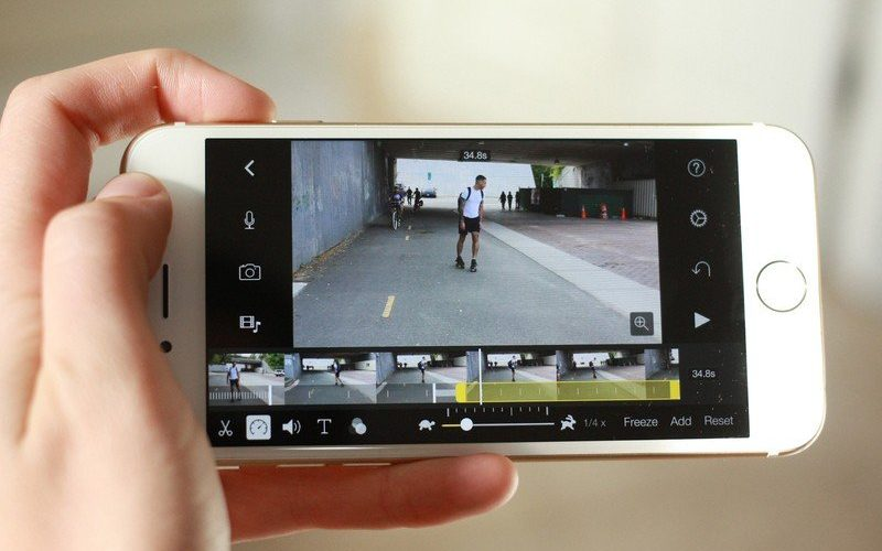Can you change the speed of a video on iPhone?