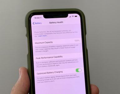 Can you reset iPhone battery health?