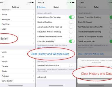 Can you see Safari history on iCloud?