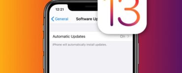 Can you skip an update on iPhone?