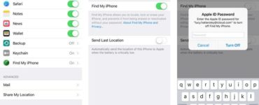 Do I need to turn off Find My iPhone before resetting?