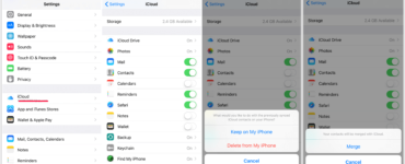 Do photos stay on iPhone if deleted from iCloud?