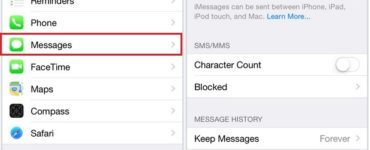 Does iMessage turn green when phone is off?