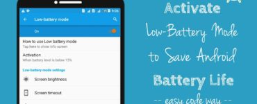 Does low data mode save battery?