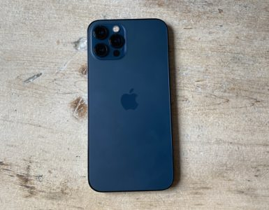 Does the iPhone 12 have a glass back?