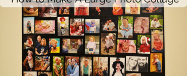 How can I make a photo collage at home?