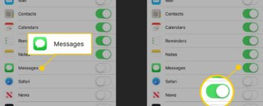 How can I see deleted texts on my husband's iPhone?
