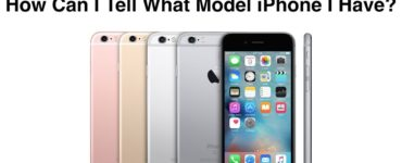 How can I tell what model my iPhone is without turning it on?
