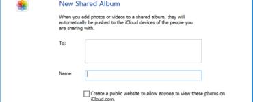 How do I accept a shared album invite?