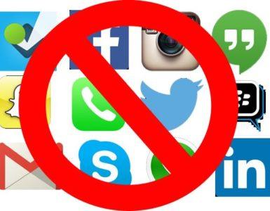 How do I block all social media sites?