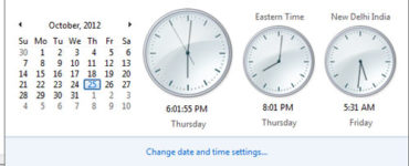 How do I change my screen time and date and time?