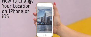 How do I change share location on IOS 14?