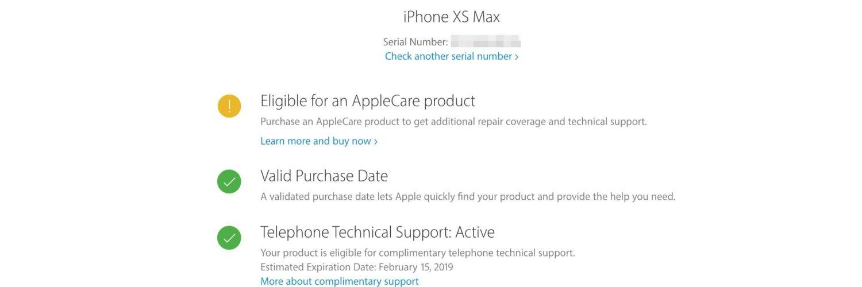 How do I check my phone warranty?