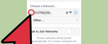 How do I connect my iPhone to a cellular network?