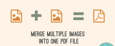 How do I convert multiple images to PDF?