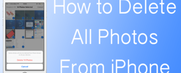 How do I delete all my Photos from my phone?
