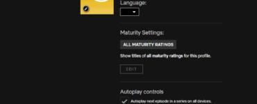 How do I delete my Netflix profile on my iPhone 2021?