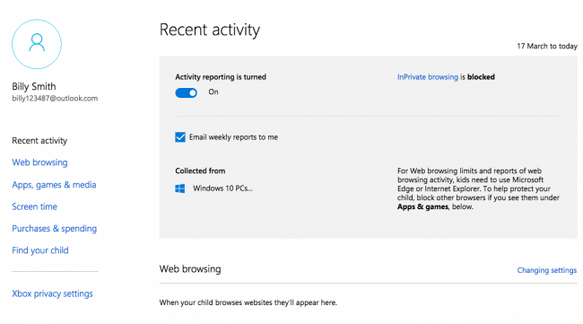 How do I delete screen time activity?