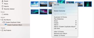How do I delete unwanted photos?