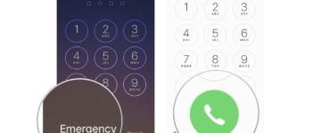 How do I dial 911 on my iPhone without calling?