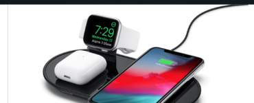How do I enable wireless charging on my iPhone 11?