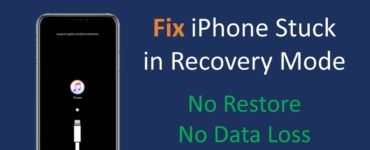 How do I fix my iPhone stuck in recovery mode?