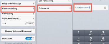 How do I forward calls and texts from one cell phone to another?