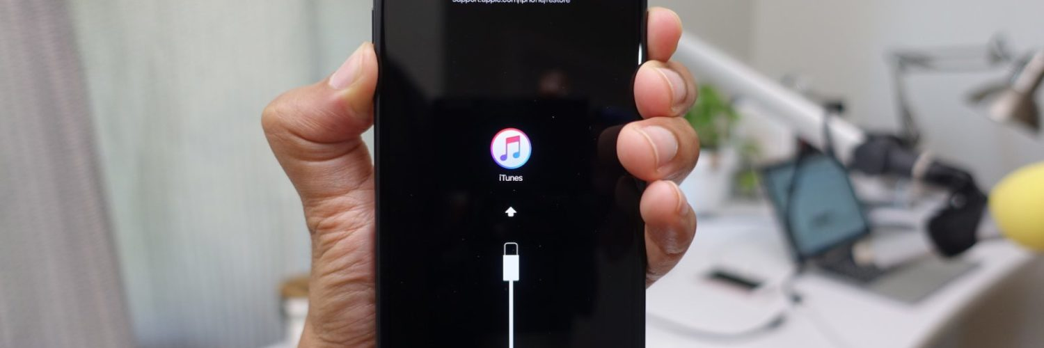 How do I get my disabled iPhone out of recovery mode?
