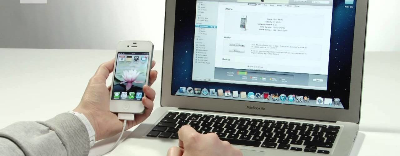 How do I get my iPhone to connect to my computer?