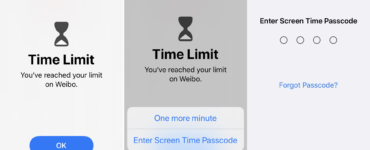 How do I ignore my screen time limit?