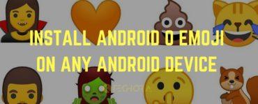 How do I install emoji?